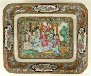 rose medallion bowl