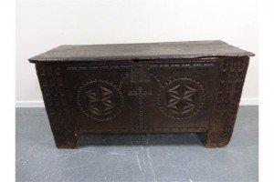 oak chest