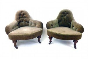 upholstered corner chairs