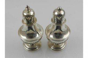 silver salt shakers