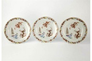 Chinese export plates,