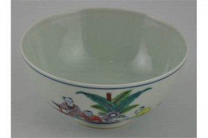 Doucai tea bowl