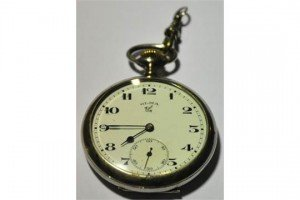 keyless pocket watch