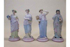 porcelain figured ladies