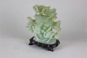 carved ornamental teapot