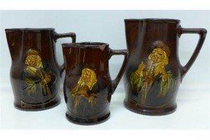 Kingsware jugs