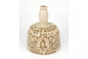 mallet shaped whisky jug