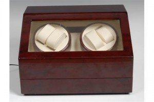watch winding display case