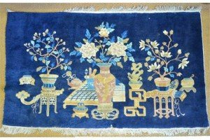 blue ground rug