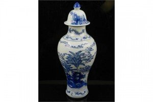 baluster shape vase