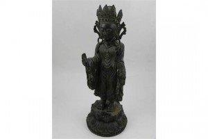 bronze Hindu deity