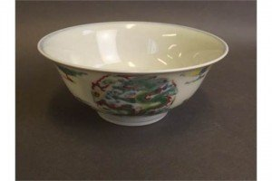 porcelain rice bowl