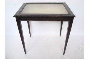 oak bijouterie table