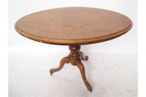 walnut oval table