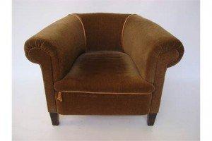tub shaped armchair