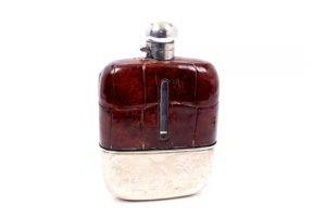 glass spirit flask