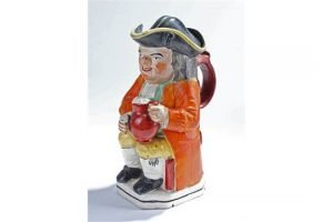 Staffordshire pottery Toby jug