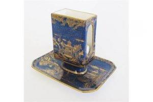 porcelain matchbox stand