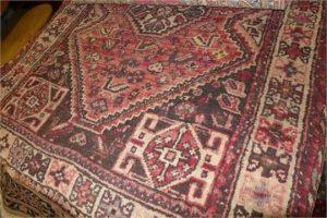 An antique shiraz
