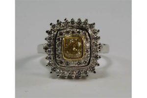 diamond set ring,