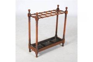 mahogany stick stand