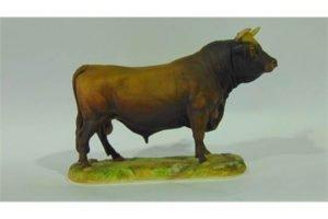 model of a Jersey bull