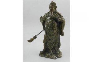 bronze figure of Guang Gong