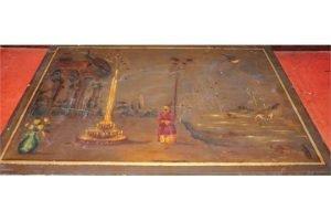 painted slate panel