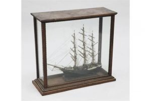model of a three mast clipper