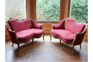 wood sofas