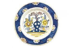 polychrome plate