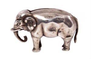 Edwardian silver pin cushion