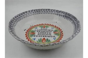 Quimper pottery bowl