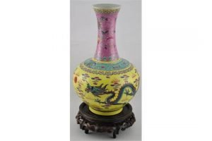 shouldered spherical vase