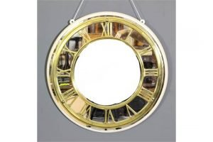 circular clock chapter ring,