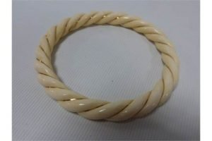 carved Ivory bangle