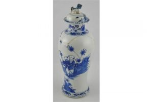 baluster vase and cover
