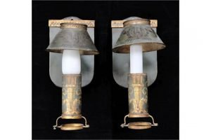 toleware carriage lamps