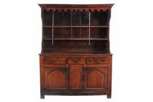 oak high dresser