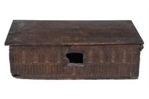oak bible box