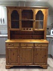 Welsh two piece dresser