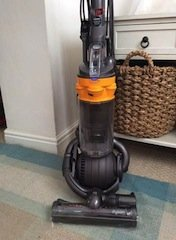 upright vacuum cleaner.