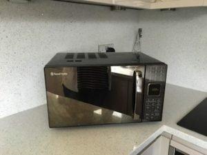 microwave o