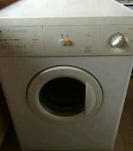 tumble dryer.