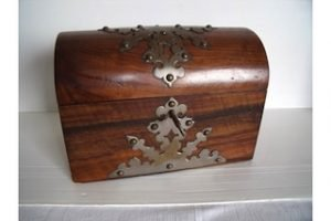 rosewood dome top box